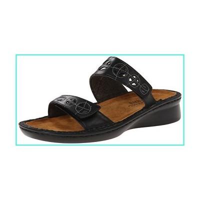 【新品】Naot Women's Cornet Dress Sandal, Black, 40 EU/9 M US(並行輸入品)