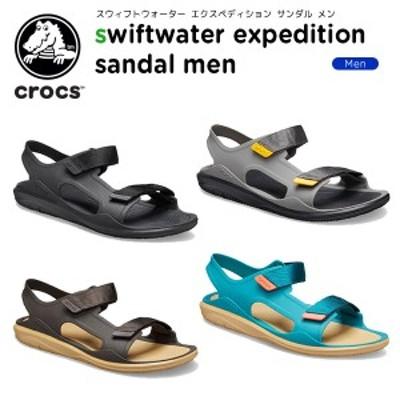 クロックス(crocs) スウィフトウォーター エクスペディション サンダル メン(swiftwater expedition sandal men)男性用/サンダル[C/B]