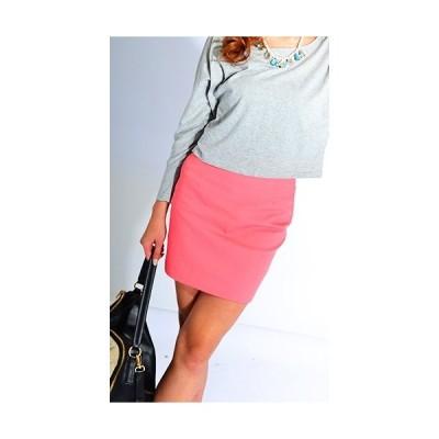 【新品】コットンデニム風♪ジップアップ立体スカート ミニスカ ミニスカート タイトスカート