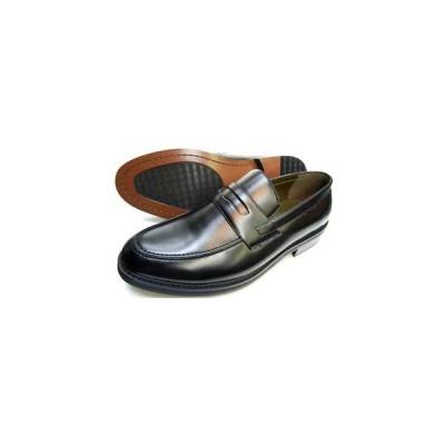 MG TRAD ローファー ビジネスシューズ(大きいサイズ 紳士靴)黒 27.5cm 28cm(28.0cm) 28.5cm 29cm(29.0cm) 30cm(30.0cm)
