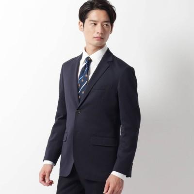 ザ ショップ ティーケーメンズ THE SHOP TK(Men) 裏脇メッシュモクロディジャケット (ネイビー)