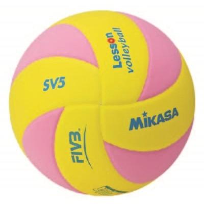 MIKASA SV5-YP バレーボール ボール レッスンバレー5号 ミカサ【取り寄せ】