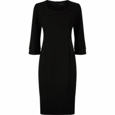ジュームズ レイクランド James Lakeland レディース パーティードレス ワンピース・ドレス Ruffle Sleeve Det Dress Black