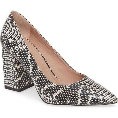 チャイニーズランドリー CHINESE LAUNDRY レディース パンプス シューズ・靴 Kyra Pointed Toe Pump Black/White Viper
