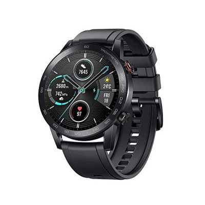 HONOR Magic Watch 2 ,46 mm Smart Sport Watch, Fitness Tracker Activity Tracker with Blood Oxygen Heart Rate and Stress Monitor, 14 Days Standby Smartw