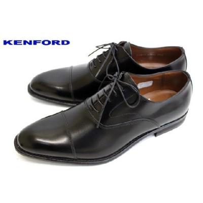REGAL KENFORD フォーマルもOK ストレートチップ KB48AJ 本革 ビジネスシューズ ブラック