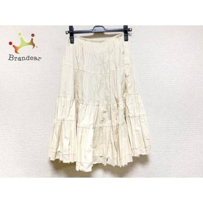 コムデギャルソン コムデギャルソン ロングスカート サイズSS XS レディース 美品 - アイボリー 新着 20200627