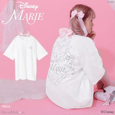 【海外発送不可】【Disney/マリー】首輪Tシャツ【注文キャンセル不可】