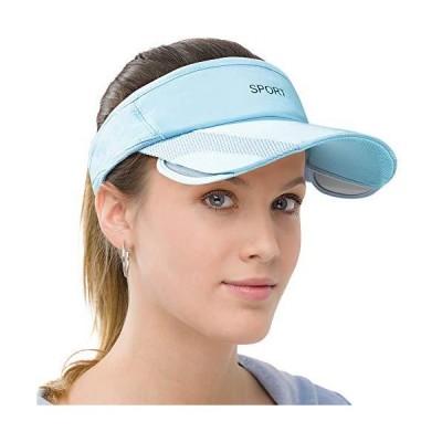 Men Women Sun Protection Sports Visor Hats Summer Wide Brim Adjustable Golf