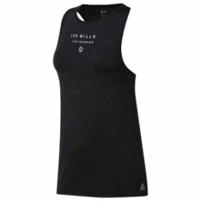 reebok リーボック フィットネス 女性用ウェア Tシャツ reebok les-mills-activchill-vent
