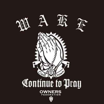 カッティングステッカー ダイハツ(DAIHATSU)WAKE ウェイク prayhands 車 カー ステッカー  アクセサリー シール ガラス オーダーメイド  転写[◆]