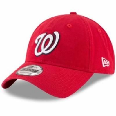New Era ニュー エラ スポーツ用品  New Era Washington Nationals Youth Red Core Classic Replica 9TWENTY Adjustable Hat