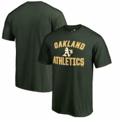 Fanatics Branded ファナティクス ブランド スポーツ用品  Oakland Athletics Hunter Green Victory Arch Big & Tall T