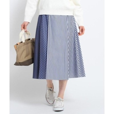 Dessin / デッサン 【洗える】アイコニックストライプスカート