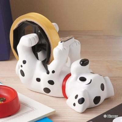 テープディスペンサー 101 101匹わんちゃん ディズニー Disney テープカッター 文具 収納 卓上 オフィス ( 文房具 ステーショナリー )