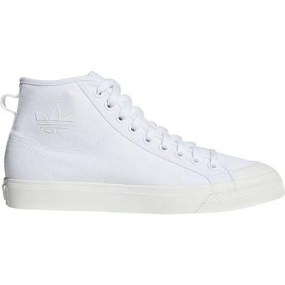 アディダス adidas メンズ シューズ・靴 Originals Nizza High Top Shoes White/White