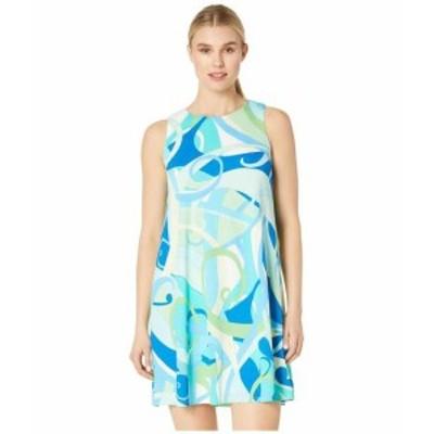 London Times ロンドンタイムス ドレス 一般 Texture Knit Gauze A-Line Dress