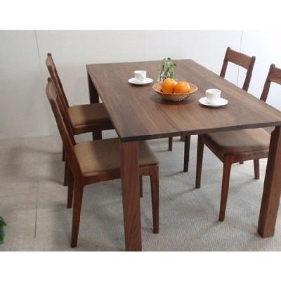 ダイニングテーブル テーブル ブラックウォールナット 無垢  ダイニングテーブルrasu