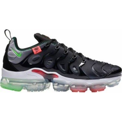 ナイキ メンズ スニーカー シューズ Nike Men's Air VaporMax Plus Shoes Black/Green/Red