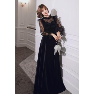 ロング ドレス 演奏会 結婚式 フォーマル ワンピース レディース