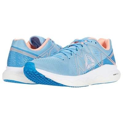 リーボック Floatride Run Fast レディース スニーカー Cobalt Blue/Cyan/Sunglow