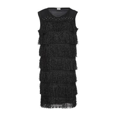 リュー ジョー LIU •JO ミニワンピース&ドレス ブラック XS ポリエステル 100% ミニワンピース&ドレス