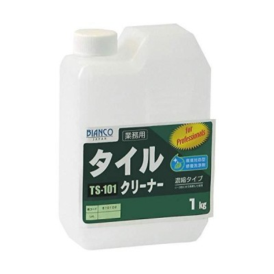 ビアンコジャパン(BIANCO JAPAN) タイルクリーナー ポリ容器 1kg TS-101