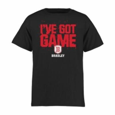 Fanatics Branded ファナティクス ブランド スポーツ用品  Bradley Braves Youth Black Got Game T-Shirt