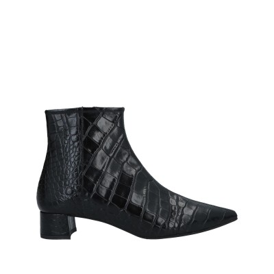 DANIELE ANCARANI ショートブーツ ブラック 36 革 ショートブーツ
