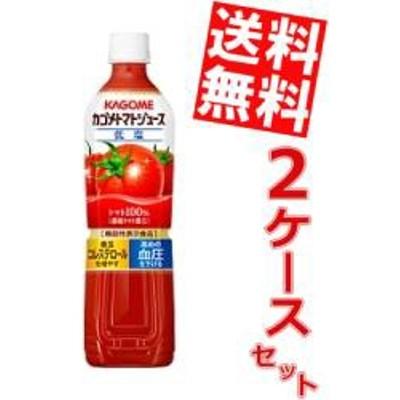 【送料無料】カゴメ トマトジュース 720gスマートペットボトル 30本 (15本×2ケース) 〔濃縮トマト還元 野菜ジュース〕[のしOK]big_dr