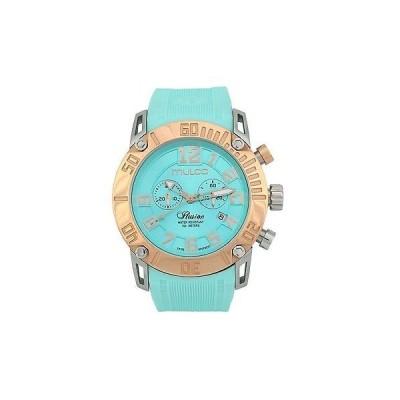 海外セレクション New Mulco MW3-11011-053 Ilusion Clear アクア クロノグラフ 腕時計