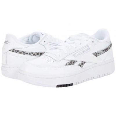 Reebok Lifestyle リーボック レディース 女性用 シューズ 靴 スニーカー 運動靴 Club C Double White/Silver【送料無料】