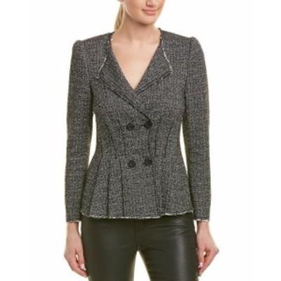 Rebecca Taylor レベッカテイラー ファッション 衣類 Rebecca Taylor Tweed Jacket 8 Black