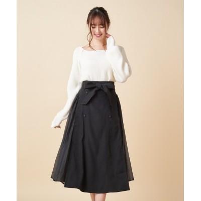 MIIA / サイドプリーツスカート WOMEN スカート > スカート