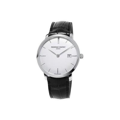 腕時計 フレデリックコンスタント メンズ Frederique Constant Slimline Men's FC-306S4S6 Automatic Silver-Tone 40mm Watch