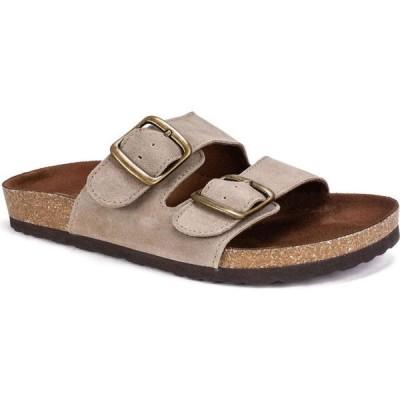 ホワイトマウンテン White Mountain レディース サンダル・ミュール シューズ・靴 Helga Footbed Sandals Taupe
