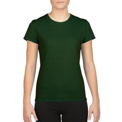 レディース 衣類 トップス Gildan Women's Performance Short Sleeve T-Shirt - G42000L グラフィックティー