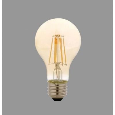 アイリスオーヤマ LEDフィラメント電球 琥珀調 キャンドル色60形相当(810lm)  LDA7C−G−FK【4967576298599:1309】