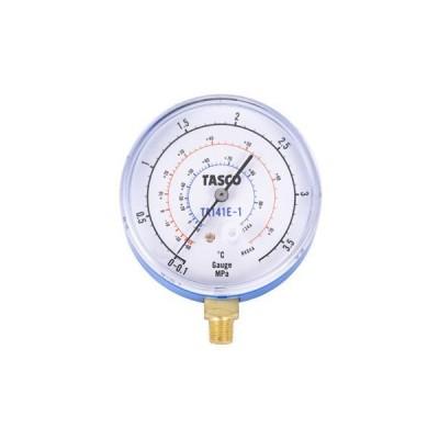 R134a・R404A ハイブリッド型冷暖兼用タイプ連成計 検査合格証明書(ロット証明)付 タスコ(TASCO) TA141E-1