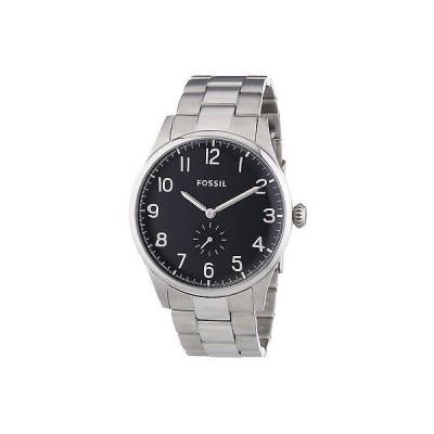 腕時計 フォッシルFossil Agent Sub-ダイヤル クラシック スチール メンズ ドレス 腕時計 45ミリ FS4852 125
