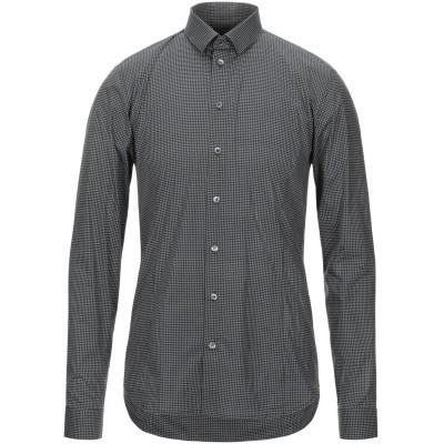 パトリツィア ペペ PATRIZIA PEPE シャツ ブラック 48 コットン 97% / ポリウレタン 3% シャツ