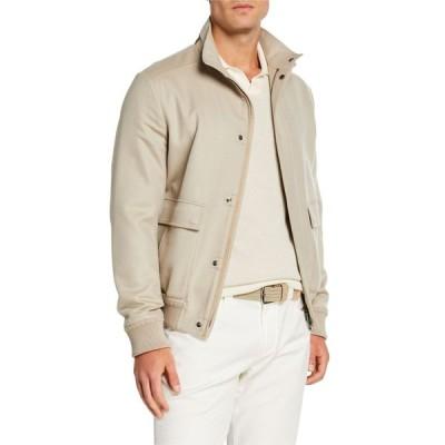 ロロピアーナ メンズ コート アウター Men's Glendale Cashmere Bomber Jacket