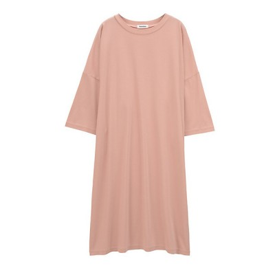 <Plantation(Women)/プランテーション> ツイストバイオジャージーワンピース light pink(17)【三越伊勢丹/公式】