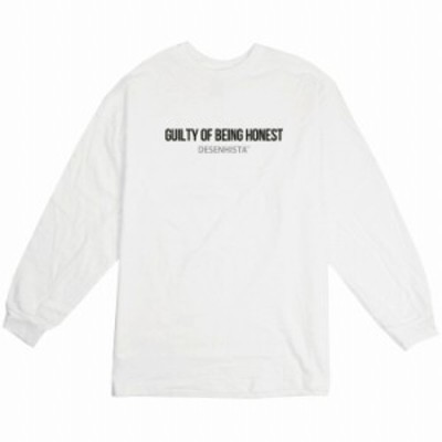 ロングTシャツ ホワイト 大人 ユニセックス メンズ レディース ビッグシルエット 長袖 ロンT カジュアル シンプル メッセージ ギフト gif