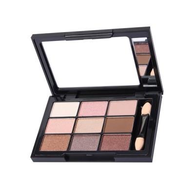 9色入り 4種選択 光沢 アイシャドウ メイクアップ 日常カラー 化粧用 パレットセット 着色力 - 多色3