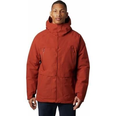マウンテンハードウェア メンズ ジャケット・ブルゾン アウター Summit Shadow GTX Down Hooded Jacket