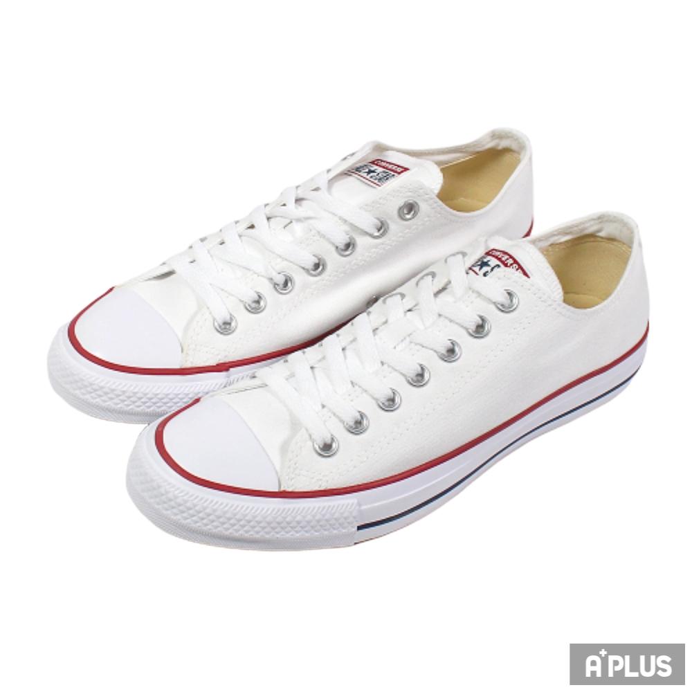 CONVERSE 男女 All Star 基本款 低筒 帆布鞋 經典 穿搭 白 - M7652C