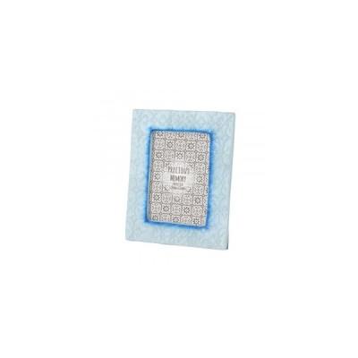 カピスフォトフレーム エンボス リタ ブルー 19519801053