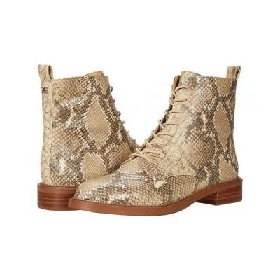 Sam Edelman サムエデルマン レディース 女性用 シューズ 靴 ブーツ レースアップ 編み上げ Nina - Wheat Multi Exotic Snake Print Leather