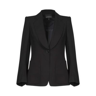 アン ドゥムルメステール ANN DEMEULEMEESTER テーラードジャケット ブラック 36 バージンウール 100% テーラードジャケット